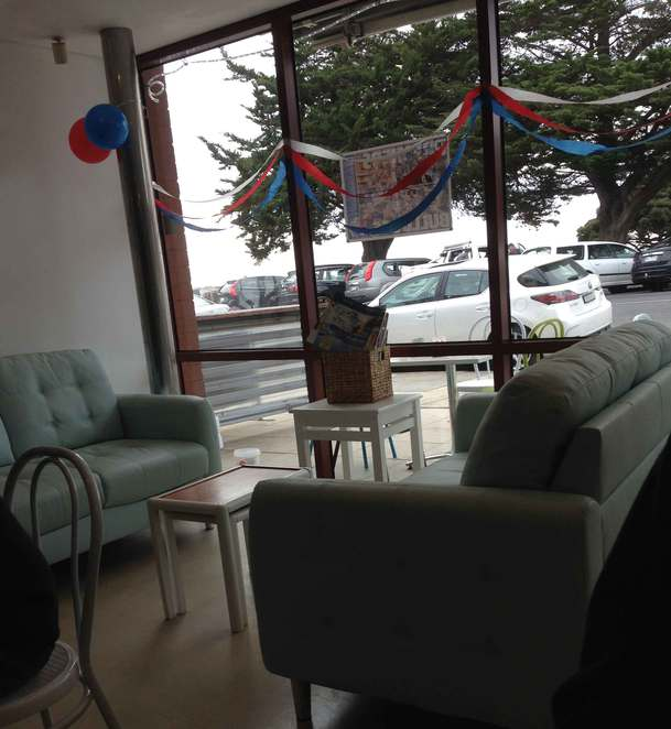 Cafe Amore couches