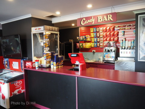 Candy bar, Movies, Bribie Island, Twin Theatre,