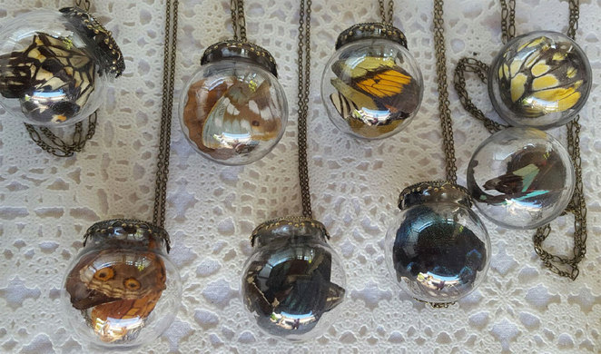 Charlie and James handmade jewellery at Roleystone Markets
