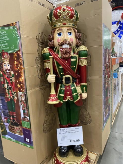 Christmas 2020 at Costco