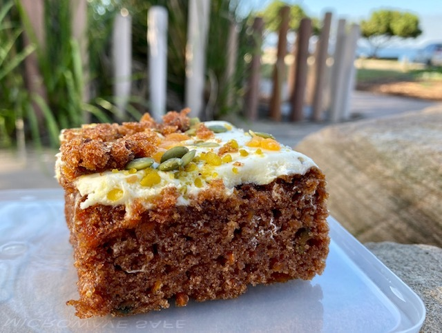 The Lighthouse' delicious carrot cake is available for take away
