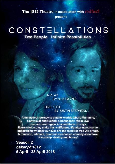 Constellations, Multiple Universes, Play, Theatre, Theater, Ferntree Gully, Melbourne, Live shows, Nightlife, Cheap events, Affordable, local, show