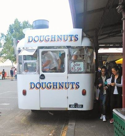 Donuts at Queen Vic Market