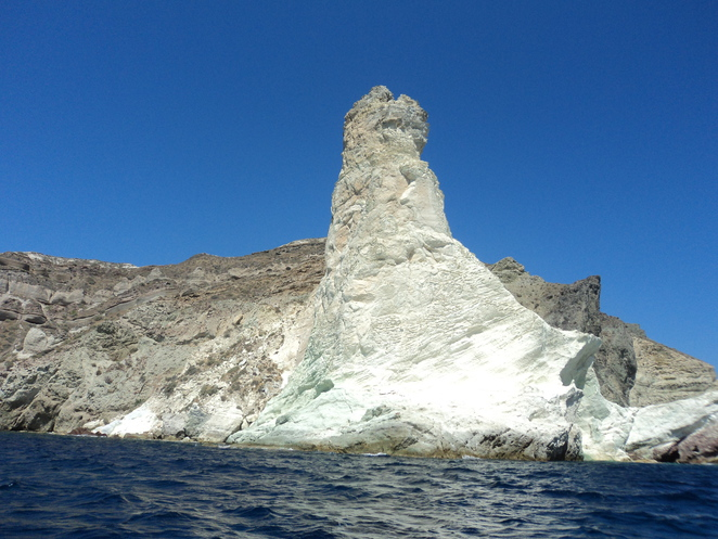 White Beach Santorini boat tours