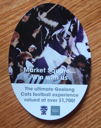 Win The Ultimate Geelong Cats Football Experience @ Market Square