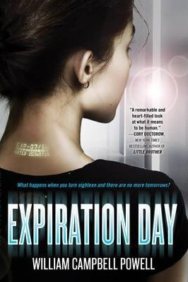 Expiration Day, William Campbell Powell, science fiction for young adults