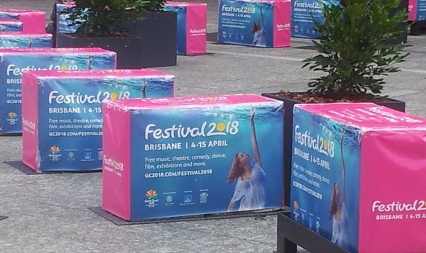 festival 2018, commonwealth games, festival, million stars, south bank, king george square, Brisbane, may cross