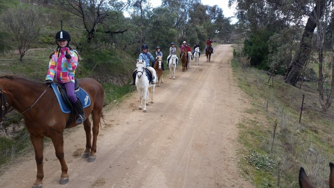 forest park riding school, stromlo, canberra, school holidays, autumn, april, 2018, ACT, horse riding, kids, children,