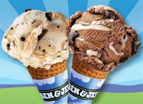 free cone ben jerry