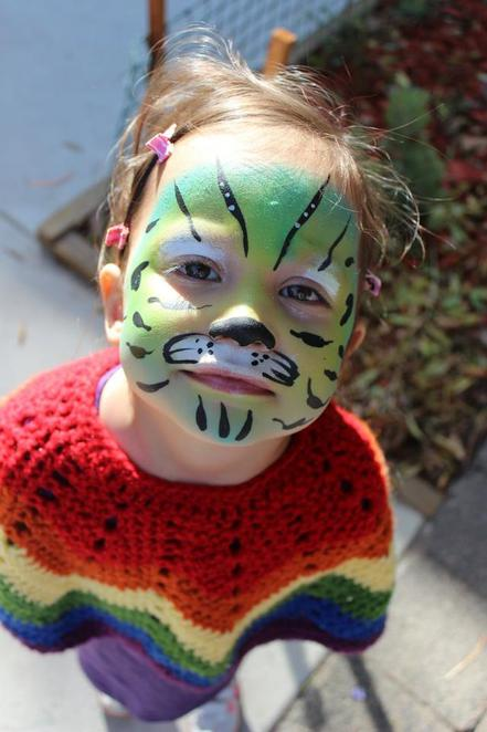 free events melbourne, june 2014, free facepainting