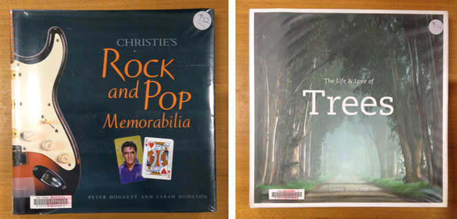 From Rock and Pop to Trees at Book Bazaar