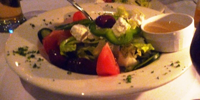 Theo's traditional Greek salad