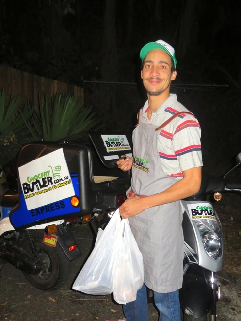 grocery butler shopping supermarket delivery