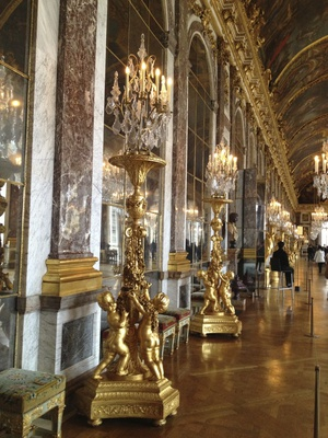 Hall of Mirrors, Versailles (c) JP Mundy 2012