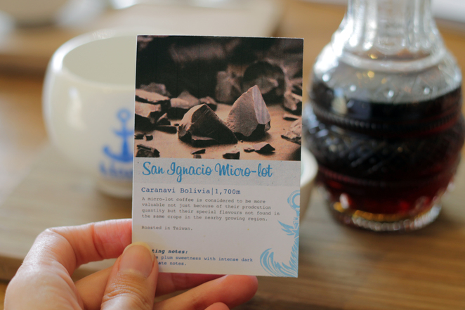 haven cafe surry hills filter coffee tasting notes