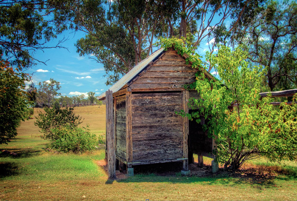 historical, history, Boondooma, Queensland, building, stone building, rural