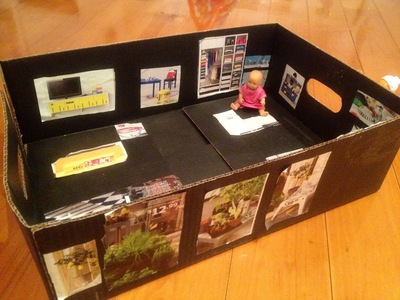homemade dolls house IKEA