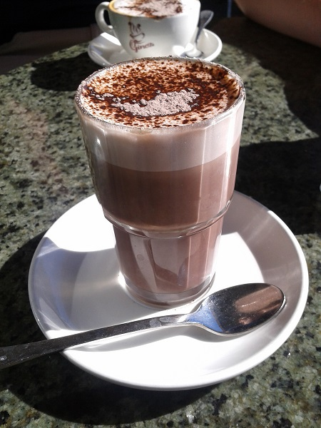 hot chocolate, fremantle, Gino's, drinks