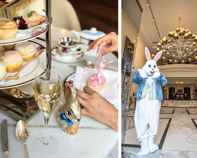 langham sydney, easter, high tea, afternoon tea, kids high tea