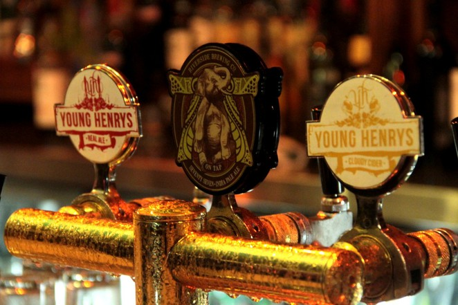 LazyBones Lounge, Marrickville bar, beers on tap, Young Henrys, Riverside Brewing Company