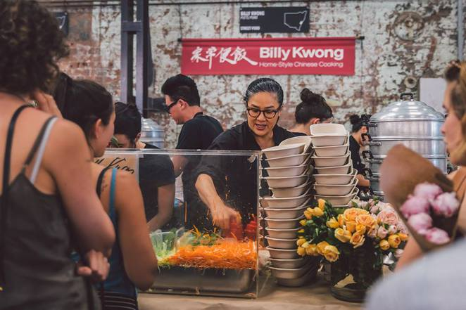 Night Market at Carriageworks curated by Kylie Kwong