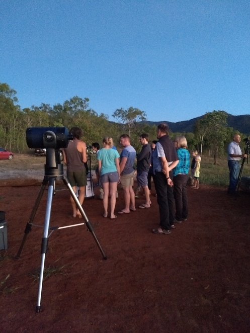 night sky secrets tour, star gazing, things to do near Cairns