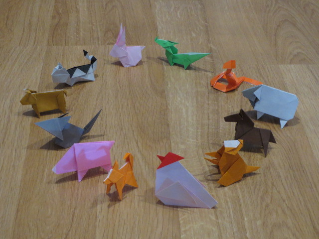 Origami Class, Chinese Zodiac, Adelaide