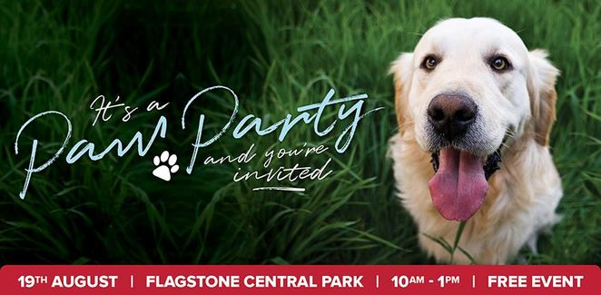 Paw Party at Flagstone Central Park Grand Opening