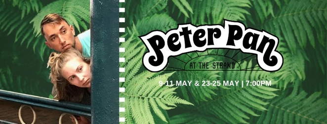 Peter Pan at the Strand, Anywhere Festival Sunshine Coast, weird 'n wonderful experiences, any performance, anywhere, anytime, range of genres, theatre, comedy, circus, dance, music, magic poetry, backyards, businesses, cafes, book stores, boxing rings, swimming pools, maze, Peter Pan has been transformed, Wendy Darling, interactive adventure, Strand Building, magical backdrop, alternate Neverland, competition to find Peter Pan's shadow, win prizes