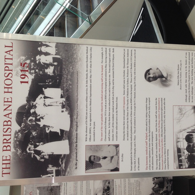 RBWH AND WWI, exhibition
