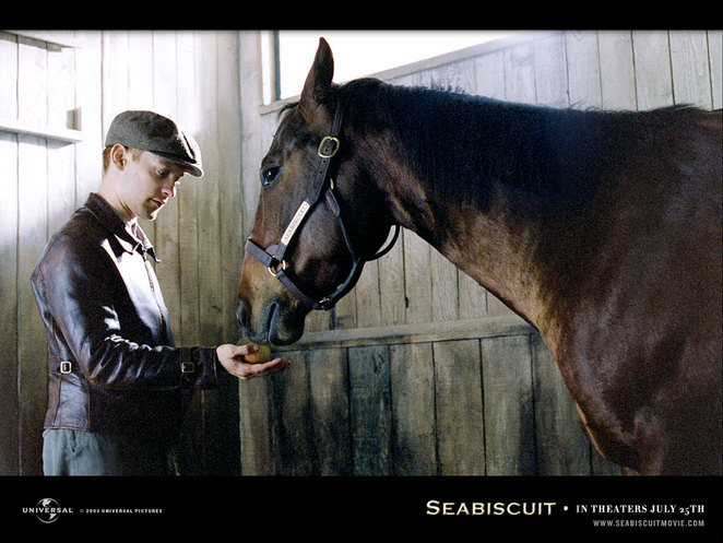 Red and Seabiscuit.