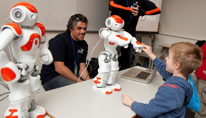 Science in the Wild Nao robots
