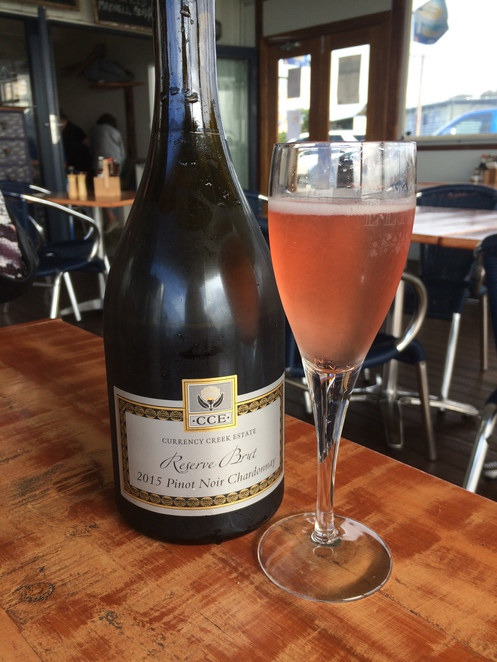 Sparkling wine from Currency Creek