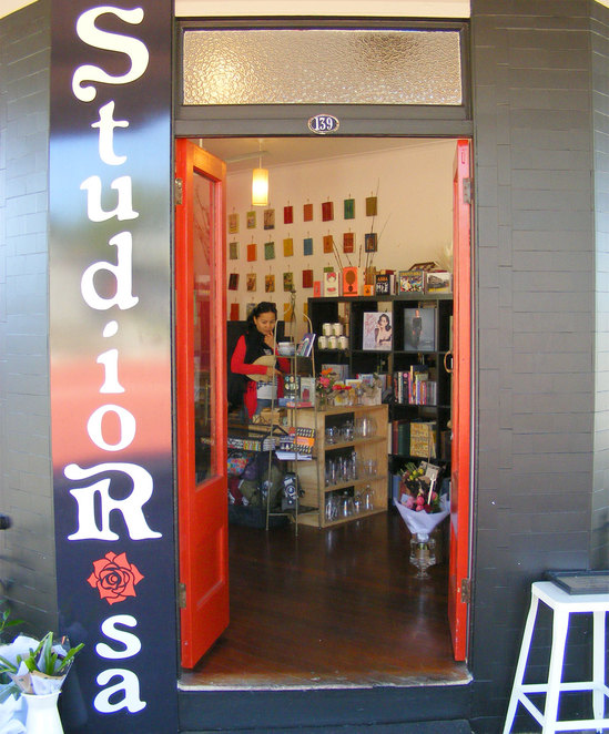 StudioRosa is a great place to pop in to browse
