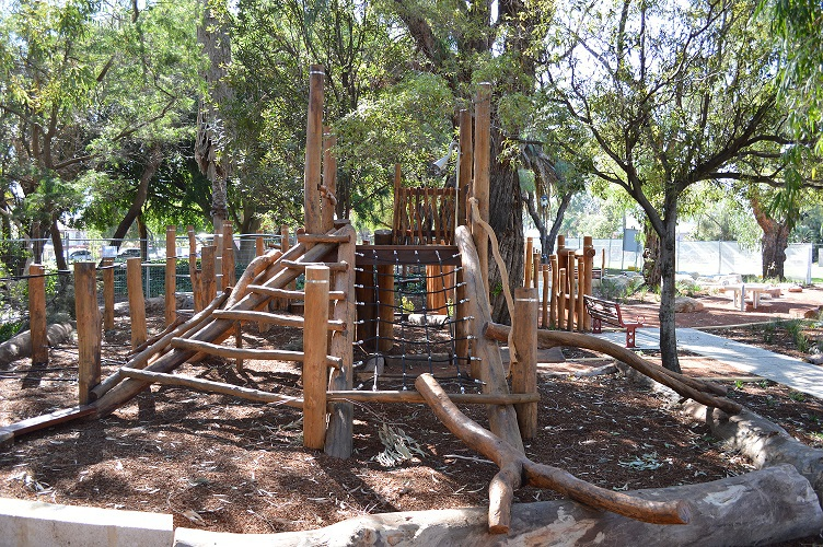 Theatre gardens playspace launch perth - Natural playgrounds for children ...