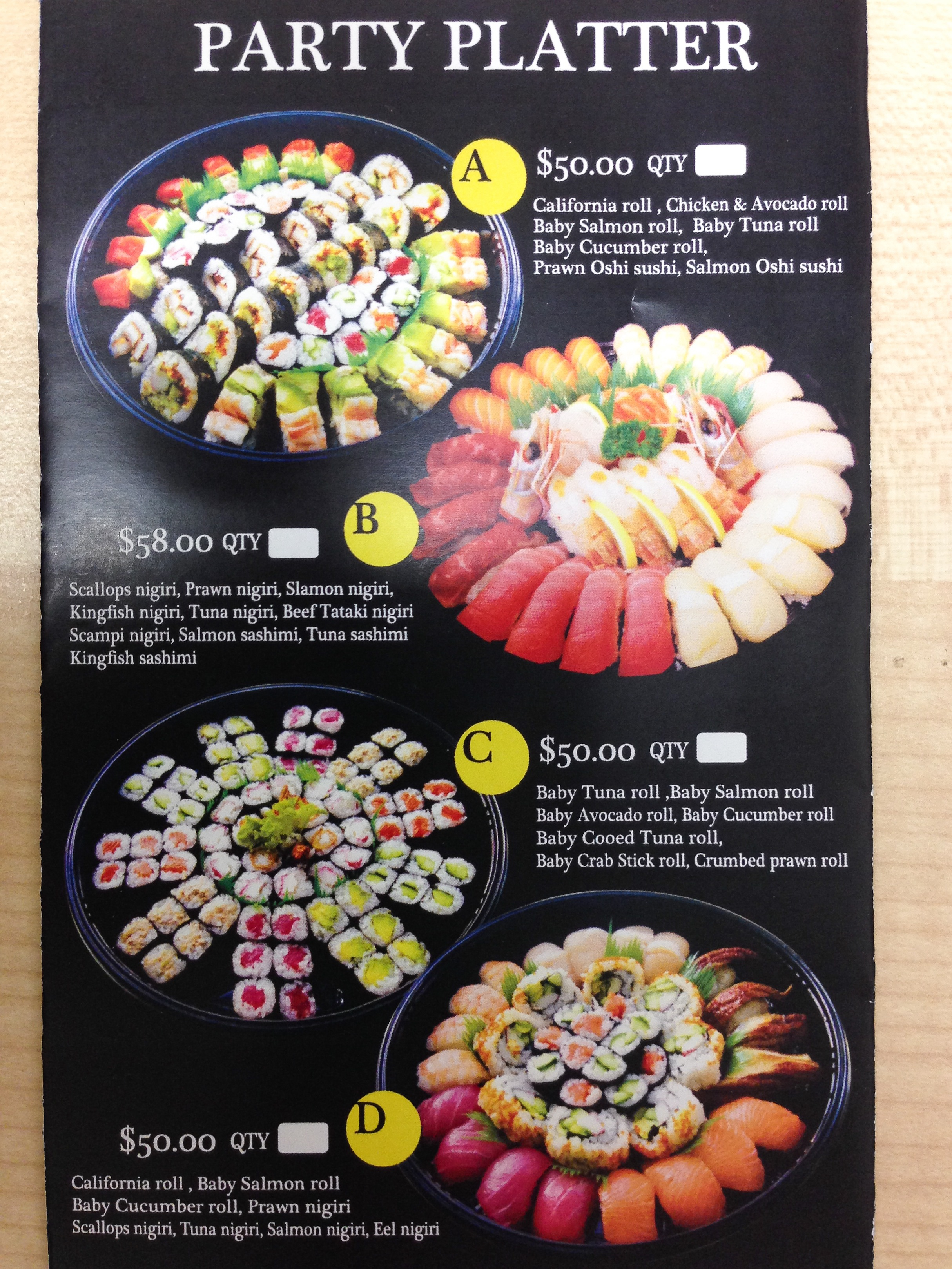 Where Can You Buy The Best Sushi Party Platter In Sydney Sydney