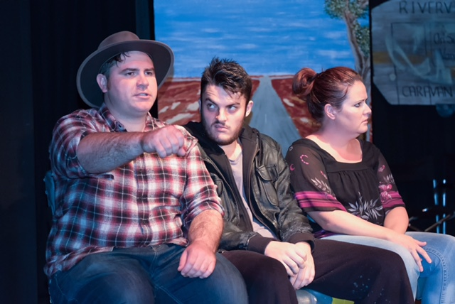 Sweet Road, Javeenbah Theatre, Debra Oswald, Gaye Gay, road trip, outback driving, journey, Australian play, Australian playwright
