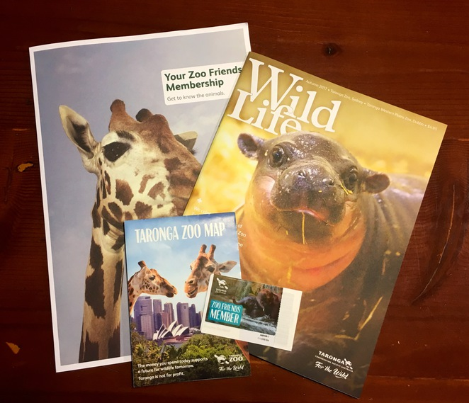 Taronga Zoo Sydney Zoo Friends Annual Membership