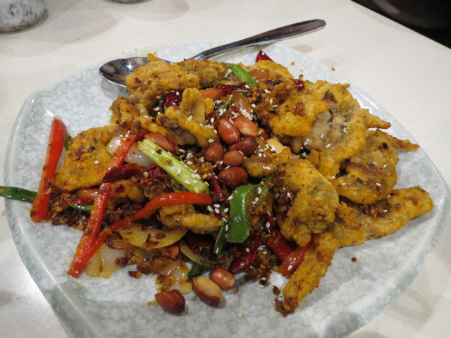 Taste, Crispy Beef Slices with Chilli, Adelaide