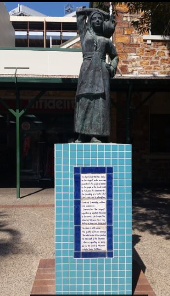 The Mall, Smith Street Mall Darwin, Darwin, history, Darwin history, free, walk