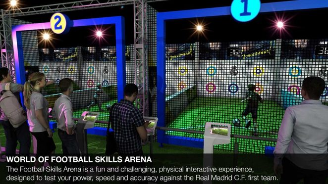 The Real Madrid World of Football Experience