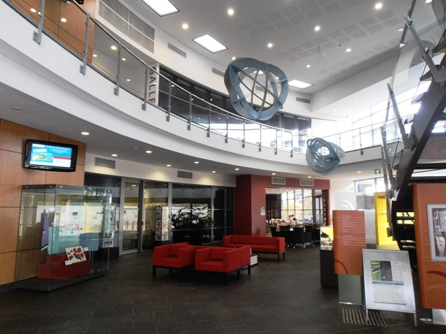A ground floor view of the Wanneroo Cultural Centre.