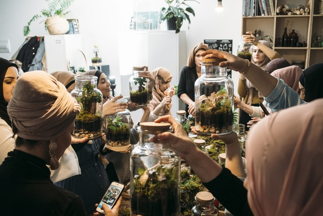 workshops, terrarium workshops, creative workshops, plants, gift ideas, fun things to do, collaborate, put your heart into it, brunswick, fun workshops, community, ethical, sustainable, hens night, birthday ideas