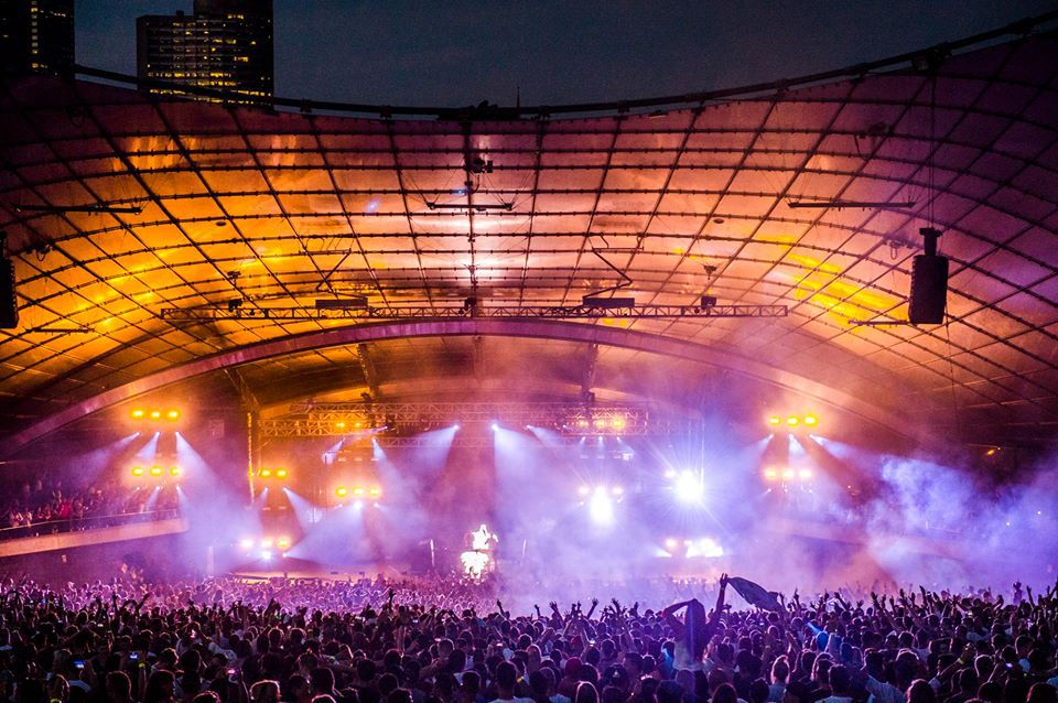 Delightful Above And Beyond Melbourne, Sidney Myer Music Bowl, Melbourne Live Music Great Pictures