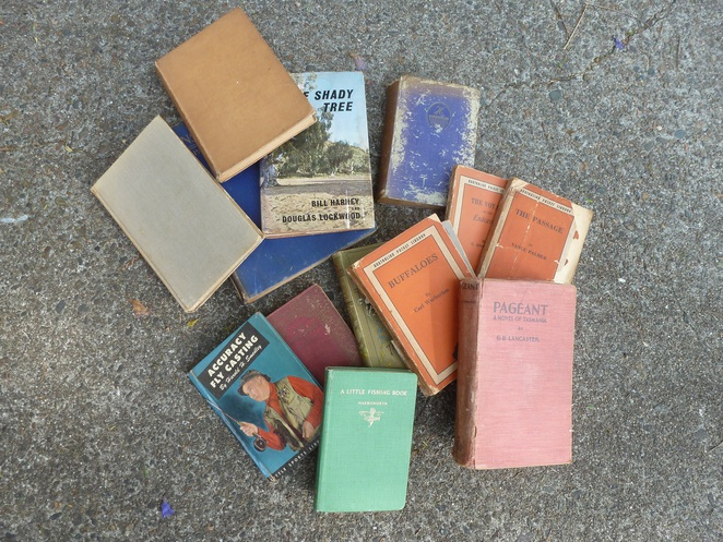 antique books,collectable books,fishing books