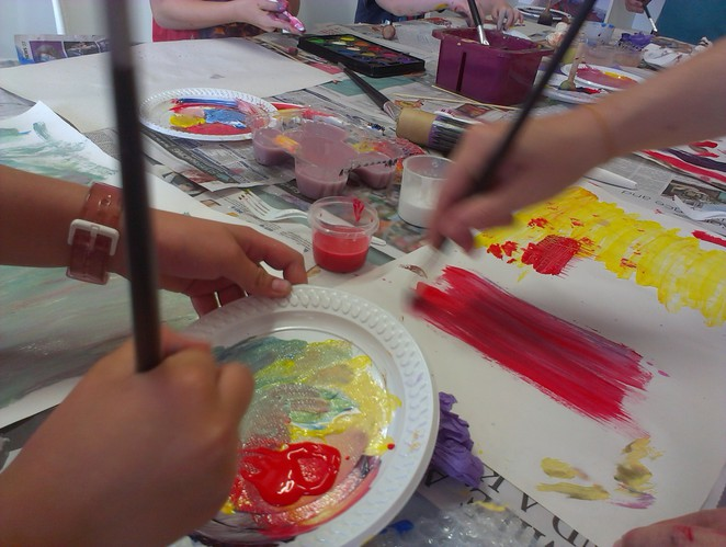 Art Classes for Kids at The Collective Store