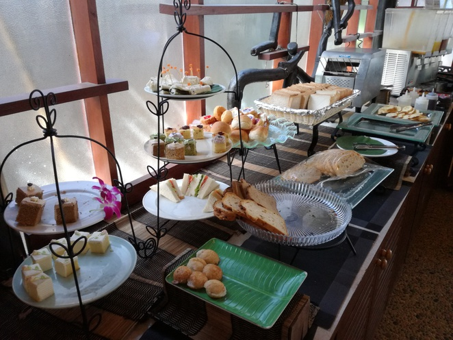 breakfast buffet railay village resort krabi thailand krua