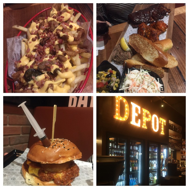 Brooklyn depot burgers and brew, burgers, Surry hills, Sydney foodie,