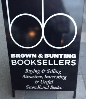 Brown and Bunting Booksellers