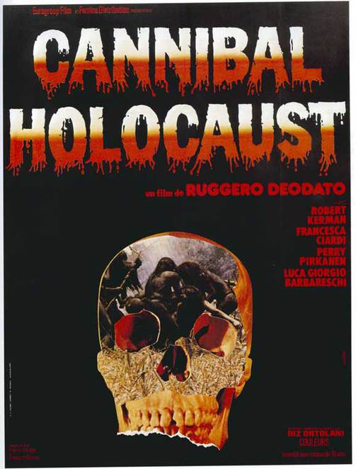 Cannibal, Banned, Unbanned, Holocaust, Cannibal Holocaust, Amazon, Tribe, Rainforest, Columbia, Italy, Italian, Italian Cinema, Italian Movie, Movie, Controversy, Horror, Flesh, Eat, Eating, Food, Australia, 2005, Animal Cruelty, Animal, Animals, Cruelty, Jail, Director in jail, people eating people, nudity, violence, sex, extreme, fire, skull, skeleton, Halloween